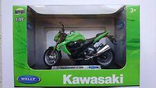 WELLY '07 KAWASAKI Z 1000 1:18 DIE CAST MODEL NEW IN BOX LICENSED MOTORCYCLE