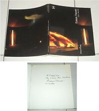 FRANCO VACCARI Opere 1966-1986 con AUTOGRAFO Photos Catalogo Cooptip 1987