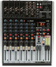 Behringer X1204USB 12-Channel Mixer - X 1204 USB / Audio Interface X 1204USB