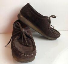 Clarks Original Wallabees Women's Brown Suede Size US 7, EURO 38, UK 5