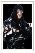THE UNDERTAKER Signed Autograph PHOTO Fan Gift Signature Print WWE WRESTLING