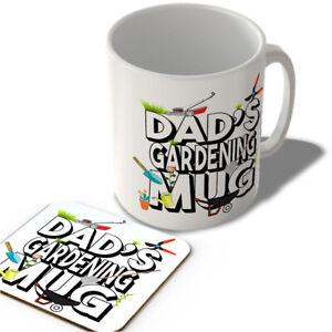 Dad's Gardening Mug - Mug and Coaster Set