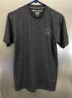 Billa Bong Mens Sz S Blue Gray Short Sleeve UVA/UVB Protection Tee Shirt T-Shirt