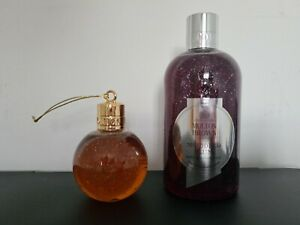 Molton Brown Muddled Plum Bath Shower Gel 300ml, Oudh Accord & Gold Bauble 75ml