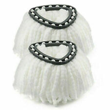 More details for 2pcs easy wring clean turbo microfibre replacement refill mop head vileda new uk