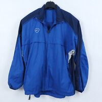 NIKE Vintage Mens Blue Zip Up Tracksuit Top Outdoor Jacket SIZE XL, GB 45/47