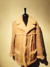 sheepskin fur coat