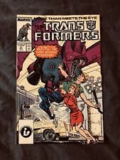 Marvel Comics The Transformers #31 1987 The Car Wash Of Doom!