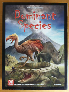 Dominant Species. Strategy board game set in prehistoric times. Complete.