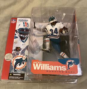 McFarlane's Sportspicks * 2002 Series 4 * Ricky Williams * Dolphins * NIB