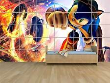 SONIC GALAXY GEANT POSTER HUGE KIDS MASSIVE CHAMBRE ENFANTS ROOM KIDS