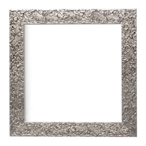 Textured Instagram Square Picture Frame Photo Frame In Silver Black Walnut