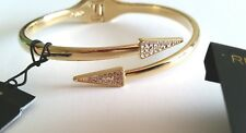 NEW! REBECCA MINKOFF PAVE TRAINGLE BRACELET AND MOON/STARS EARRINGS