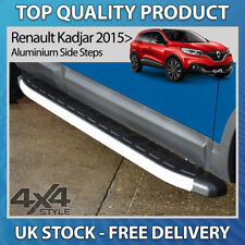 RENAULT KADJAR 2015+ ALUMINIUM CLUMBER STYLISH SIDE STEP BARS RUNNING BOARDS