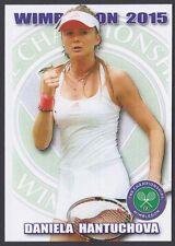 2015 DANIELA HANTUCHOVA Wimbledon card 1/100 Tennis