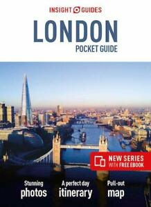 Insight Guides London Pocket Guide England FREE SHIPPING NEW