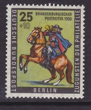 Germany Berlin 9NB18 MNH 1956 Postrider of Brandenburg circa 1700