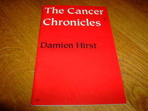 DAMIEN HiRST-THE CANCER CHRONICLES-SIGNED/NUMBERED-1ST LIMITED ED-PB-F/M-RARE