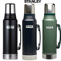 Stanley Classic Camping Tea Coffee Drinks Flask 1L Stainless Steel Thermos