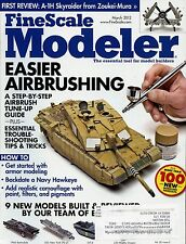 Fine scale Modeler Magazine March 2012 USS New York / 1966 Batmobile