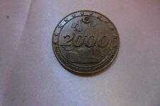 médaille commémorative euro 2000 (bronze massif)