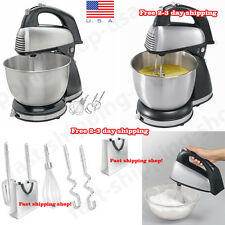 Classic Stand Mixer Hamilton Beach 6 Speed Kitchen Cooking Dough Bread Cake