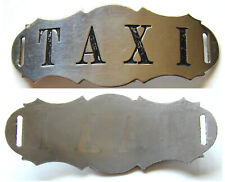 New ListingVintage Early Taxi Hat Badge