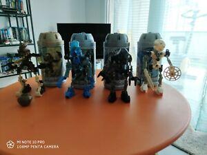 LEGO Lot 4 x Bionicle vintage complet avec boites et accessoires