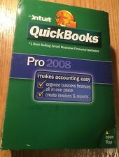 QuickBooks Pro 2008 with License & Product Key in Original Box