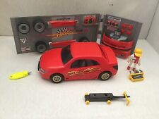 PLAYMOBIL 4321 ATELIER VOITURE TUNING ROUGE