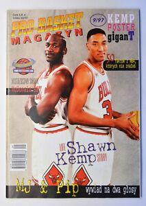 Pro-Basket Magazyn 9/97 Polish Basketball Magazine with Poster Michael Jordan