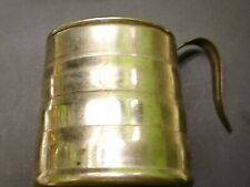 WW 1 US Cavalry 1912 Dated Cup collapses