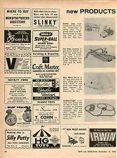 1966 ADVERT Lakeside Toys Gumby Pokey Jeep Tru Scale Farm Hay Rake