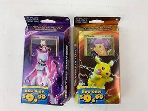 Pokemon XY Evolutions - Pikachu Power and Mewtwo Mayhem Lot of 2 Theme Decks NEW