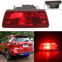 Rear Tail Bumper Fog Brake Light Lamp For Nissan X-trail Juke Pathfinder 2014-18