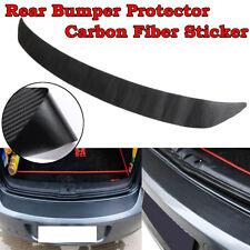 108x7cm Carbon Fiber Rear Bumper Sticker Trim Protector For VW Golf MK6 GTI R20