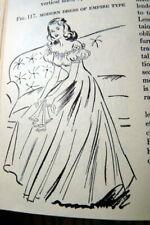 Rare Vintage 1940s Sewing Book Fabrics & Dress 1948 by Rathbone & Tarpley