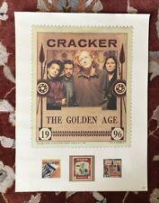 Cracker The Golden Age rare original promotional poster