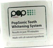 Pop Sonic Teeth Whitening System Supersoft Duplex Tray Led Light Whitening Pens