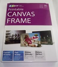 A4 DIY INKJET PRINTABLE CANVAS FRAME KIT