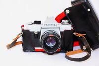 "Pentacon PRAKTICA L Germany GDR SLR film camera w/s lens ""HELIOS 44-2"" EXC"