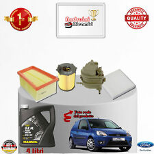 Replacement Filter Kit+Oil Ford Fiesta V 1.6 TDCI 66KW 90CV from 2007 -> 2008