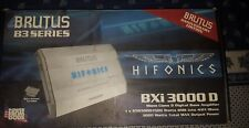 Hifonics Car Amp Amplifier Brutus B3 BXi 3000D  Digital Mono For Sub Subwoofer
