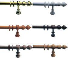Großartig Gardinenstangen und -endstücke aus Holz   eBay RZ58