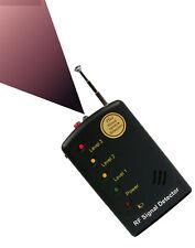 Spy Cameras Bugs Detector Finder Hidden GSM GPS Locator Monitor Listening Device
