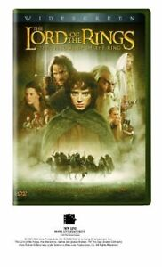 The Lord of the Rings: The Fellowship of the Ring (2 DVD Set, WS) NEW