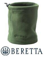 Beretta Fleece Neck Warmer Green Snood Microfibre SF111 Shooting Hunting