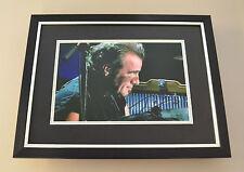 Tico Torres Signed Framed 16x12 Photo Display Bon Jovi Autograph Memorabilia COA