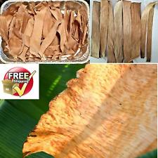 Ceylon Organic Dried Banana Leaves for Aquarium and Pet Supplies- DIY crafts
