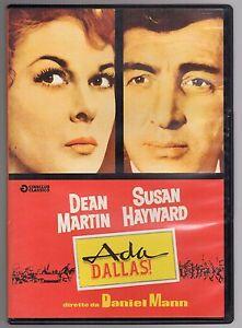 dvd ADA DLLAS Dean MARTIN Susan HAYWARD
